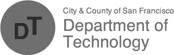 SF Department of Technology Logo
