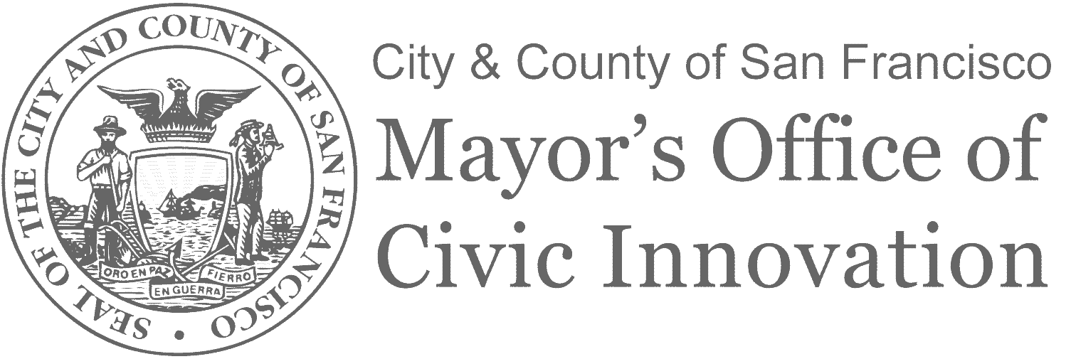 SF Mayor's Office of Civic Innovation Logo