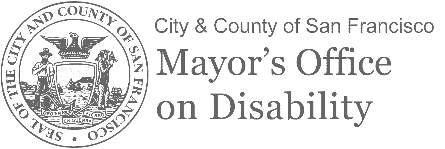 SF Mayor's Office on Disability Logo
